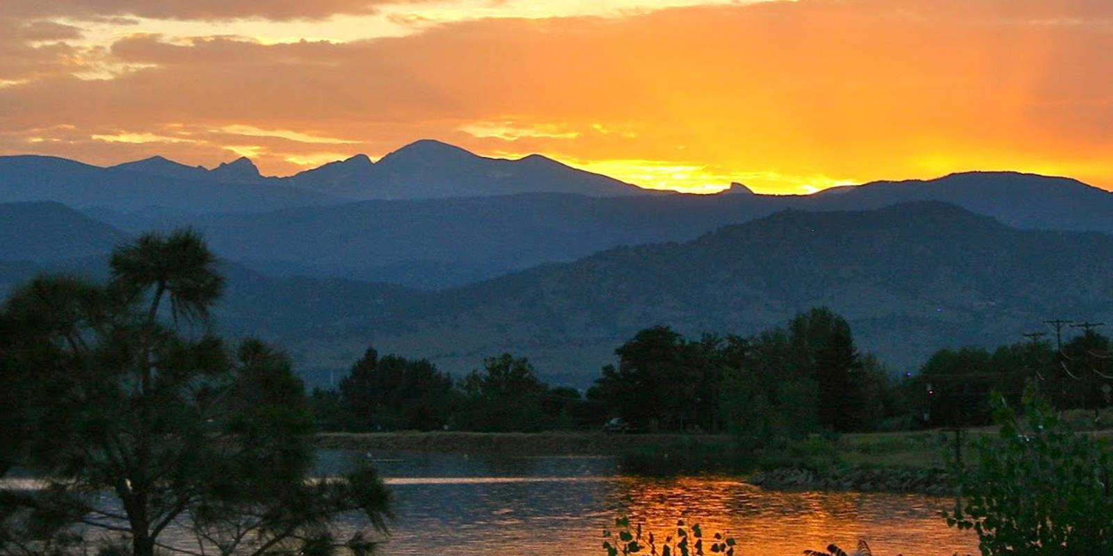 Rocky Mountain Sunset